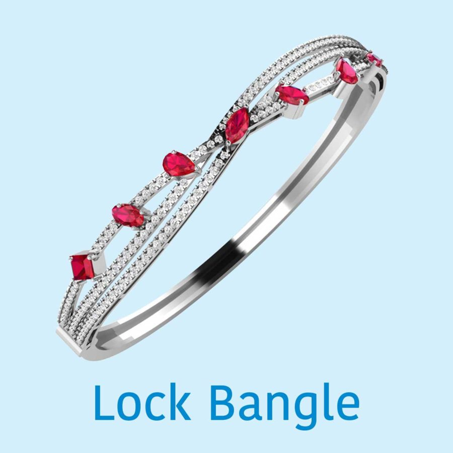 LOCK BANGLE COLLECTIONS